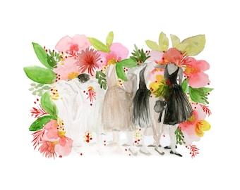 Ballerinas & Florals