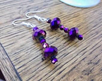Glass Earrings | Dangle Earrings