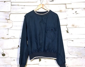 Vintage Nylon High neck Pullover  - Medium (NY-04)