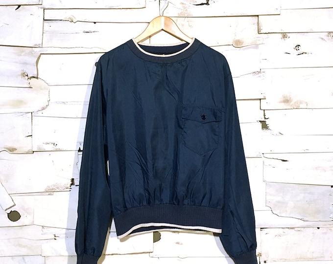 Vintage Nylon High neck Pullover  - Medium (NY-04)