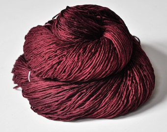 Fallen dark soul -  Silk Fingering Yarn