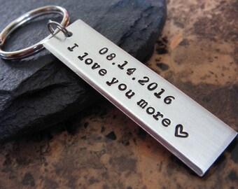 Custom Keychain - Couples Keychain - Custom Couples Keychain - Boyfriend Gift - Girlfriend Gift - Gift for Her - Gift for Him - Couples Gift