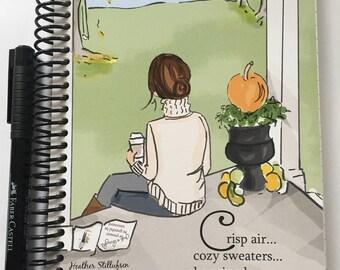 Gratitude Journal -  Autumn -Gift Ideas - Notebooks - Gifts for Women Teachers -