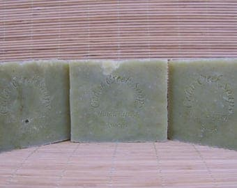 Fir Needle Soap Handmade Soap Cold Processed Soap - Organic, Vegan and All Natural