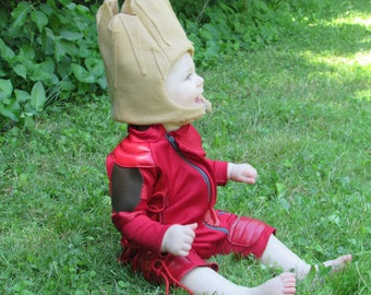 Baby Groot Ravager Costume with Hood - Made to Order