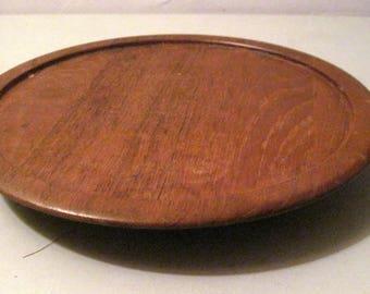 vintage digsmed wooden lazy susan made in denmark