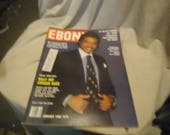 Vintage 1981 Ebony Magazine January Billy Dee Williams, collectable
