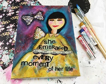 Original Art: She Embraced Every Moment