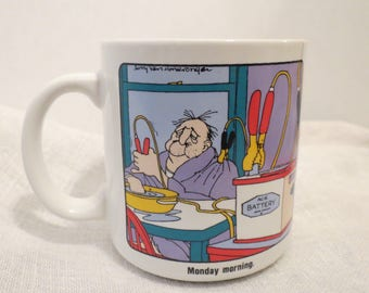 Monday Morning Electrocution Mug by The Neighborhood, Jerry Van Amerongen