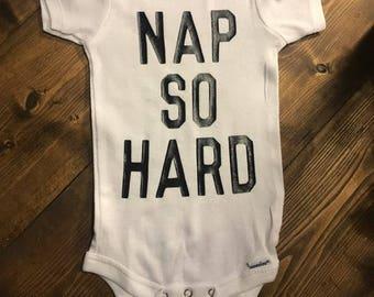 Nap So Hard Onesie