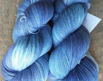 Delightfully Delphinium - Hand Dyed Merino Silk Lace Yarn