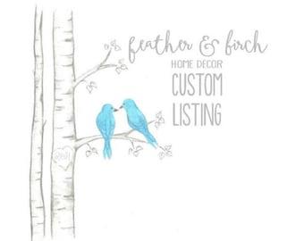 Custom Listing Bekah Courtney