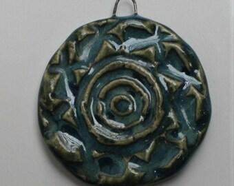 Handcrafted Ceramic Pendant PEN050814