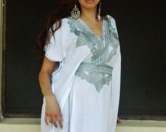 KAFTAN SUMMER 10% SALE Caftan Marrakech Style-loungewear,resortwear, beachwear, great for Birthdays, Honeymoon or Maternity Gifts