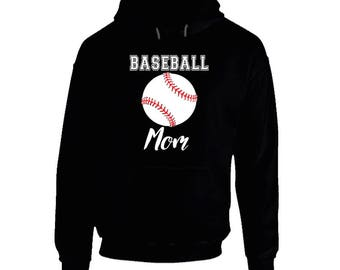 Baseball Mom, Baseball Mom Hoodie, Baseball Hoodie, Baseball Mom Sweatshirt, Baseball Mama Hoodie, Baseball Mom Shirt, Baseball Mama