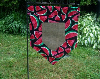 Personalized Summer Garden Flag