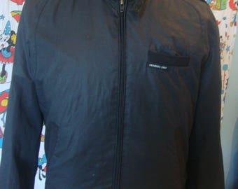 Vintage 80's Black Members Only Jacket Adult Size 40 M
