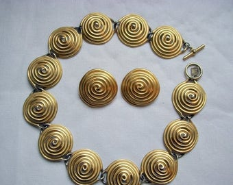 ANNIVERSARY SALE Anne Klein Runway Designer Necklace and Earrings