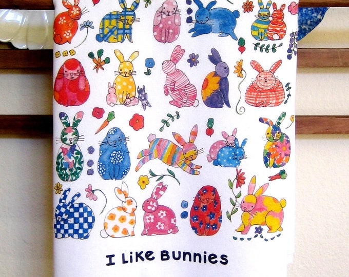 Bunnies Kitchen Towel