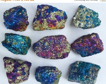 ON SALE: Natural Iridescent Chalcopyrite
