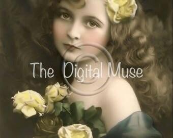 Victorian Beauty#2  Instant Download Vintage Photograph