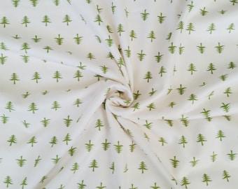 little forest baby blanket, tree swaddle, fleece baby blanket, lightweight baby blanket, woodland nursery, gender neutral nursery