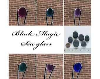 English Sea Glass - Black Magic - Lot DC1116