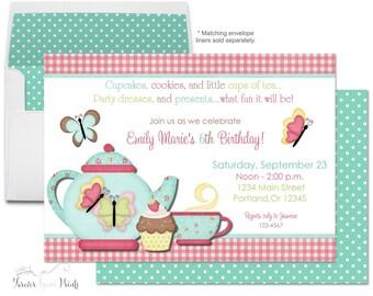Teacup invitation | Etsy