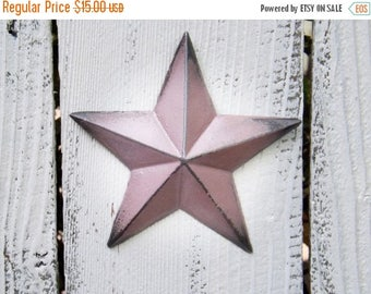 ON SALE Cast Iron Star~ Iron Star~Nursery~Rustic~Pink~Star wall Decor