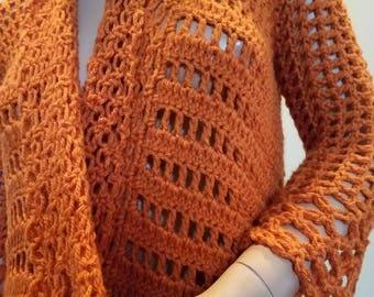 On Sale , Crochet jacket.