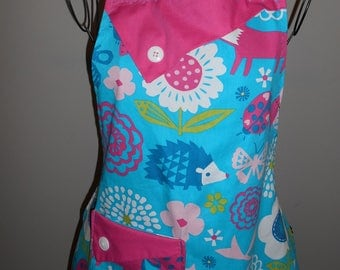 Owls, Foxes, Butterflies, Birds and Ladybugs Women's Apron