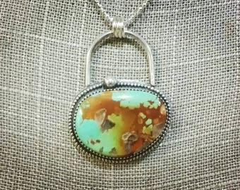 Inner Compass Turquoise Pendant