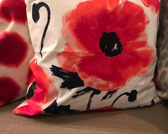 Kate spade floral Pillow Cover 18x18