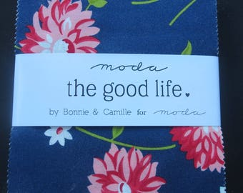 The Good Life Charm Pack - Bonnie and Camille For Moda