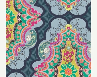 SALE 10% Off - Brit Boutique Royal  (CST-3100) - CARNABY Street by Patricia Bravo - Art Gallery Fabrics - By the Yard