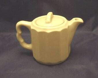 Vintage Onondaga Pottery Co. (O.P.Co) Individual Teapot, 1950s