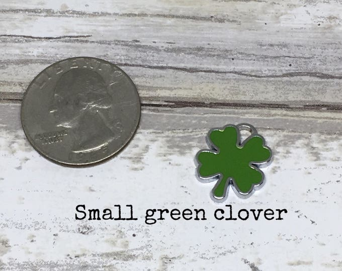 Clover charm necklace