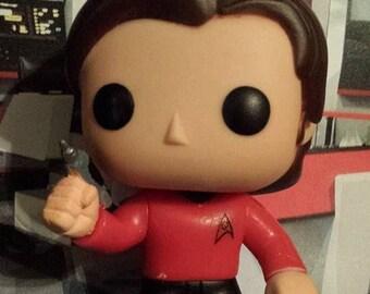 READY TO SHIP - Supernatural Star Trek Sam Scotty - Custom Funko pop toy