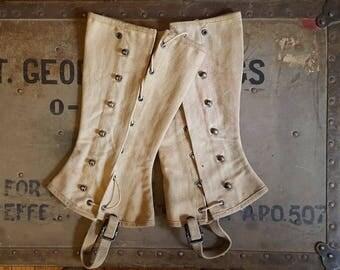 WWII Army Leggings