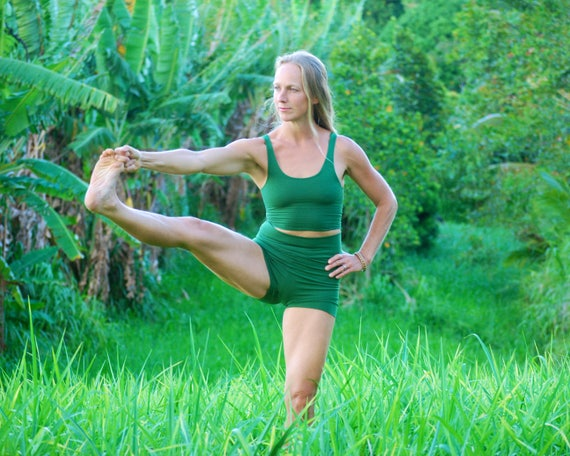 Women's Yoga Shorts  - Booty Shorts - Eco Friendly - Organic Clothing - Several Colors Available
