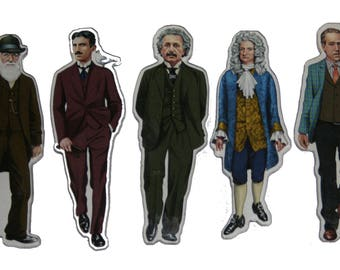 Famous Scientist magnets