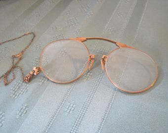 Antique Pince Nez Glasses