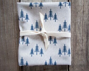 Treeline Natural Linen Tea Towel