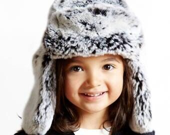 Tissavel Faux Fur Kid's Trapper - Unisex