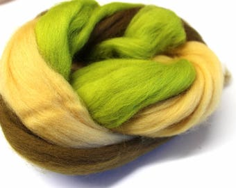 Merino wool top or roving