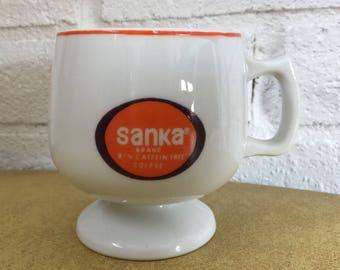 Vintage Sanka Coffee Mug Made in Japan