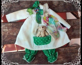 SCHOOL ROBE DRESS for Blythe by Antique Shop Dolls