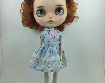 Blue dress for Blythe Doll by StableHouse
