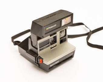 Vintage Polaroid Camera, Polaroid Spirit, Polaroid 600 Camera with Flash