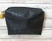 Little e leather. Black/Tokidoki Quicklet, Ju-Ju-Be customs, Accessory Bags, Diaper bag, Medium zipper boxy bag